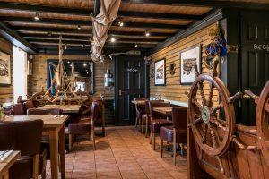 Restaurant in the Wheelhouse Restaurant Mevagissey