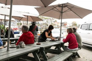 Outdoor Seating - Wheelhouse Restaurant