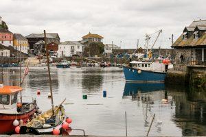 Mevagissey Harbour - From Wheelhouse Restaurant