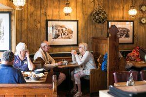 Sipping Coffee - Wheelhouse Restaurant